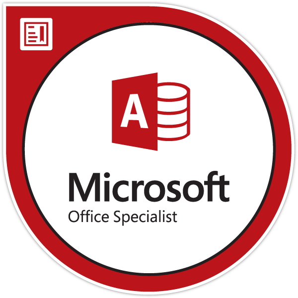 Microsoft Office Specialist Access