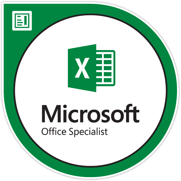 Microsoft Office Specialist Excel